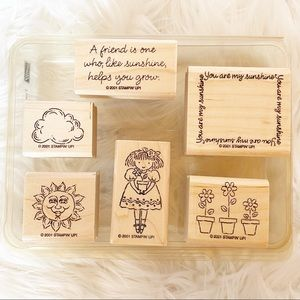 Stampin' Up! You are my sunshine 6 stamp set